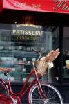 baguettes sur la bicyclette