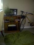 bookshelf bike