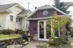 This was the first purple house I saw in Portland.