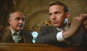 "Sean Connery and Kevin Costner in ""The Untouchables"""