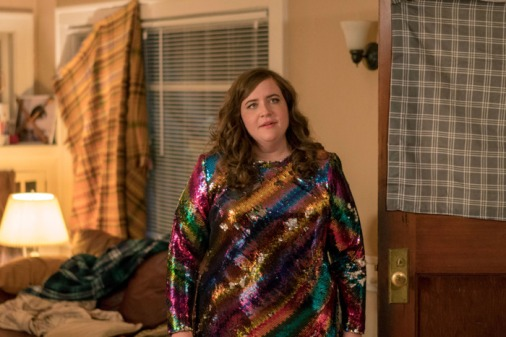 Shrill Rainbow dress